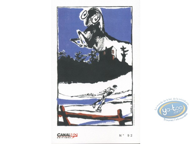 Bookplate Offset, Quatre Fleuves (Les) : Roller