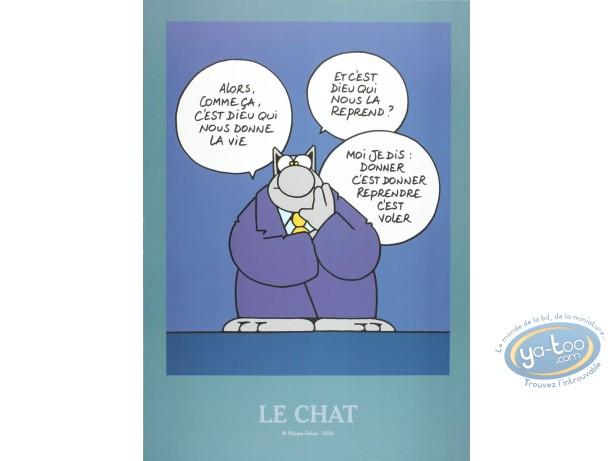 Offset Print, Cat (Le) : Life