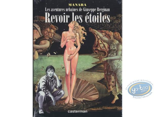 Adult European Comic Books, Giuseppe Bergman : To see again stars, Manara