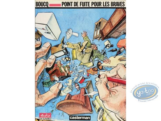 Listed European Comic Books, Point de Fuite pour les Braves : Point de fuite pour les braves