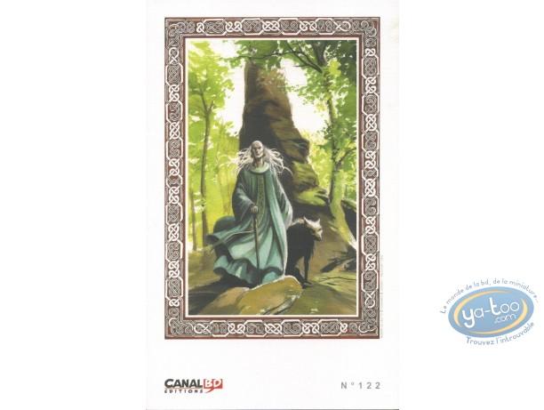 Bookplate Offset, Rogon le Leu : Old Man