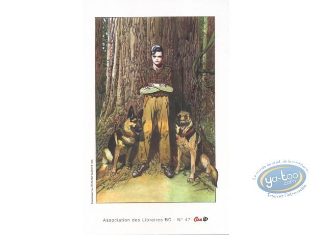 Bookplate Offset, Révoltés (Les) : Boy & Dogs