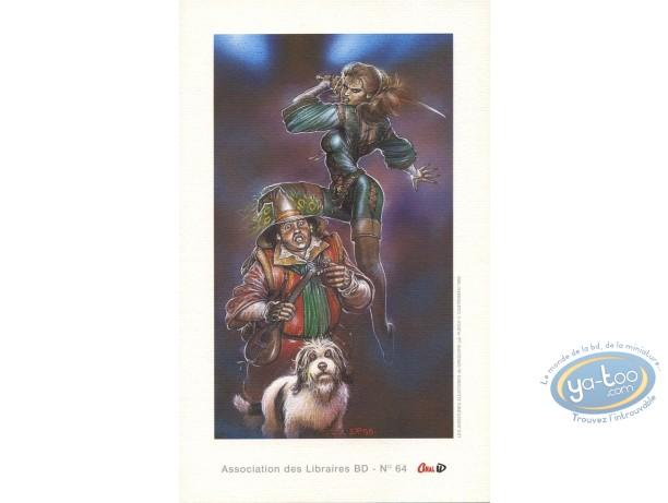 Bookplate Offset, Aventures Aléatoires de Grégoire (Les) : Puech, Les aventures aléatoires de Grégoire