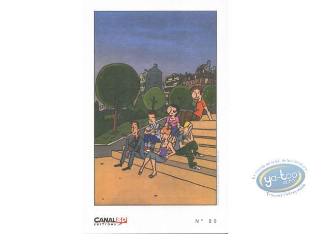 Bookplate Offset, Premières Chaleurs : Sitting on the stairs