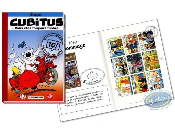 Album + Stamp, Cubitus : Vous etes toujours timbre
