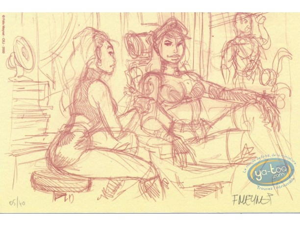 Bookplate Offset, Tattoo (sketch)