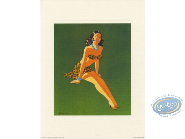 Offset Print, Pin-Up : Pin-up 8