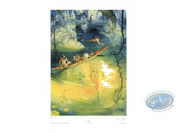 Offset Print, Lepage, La Forêt Cathédrale