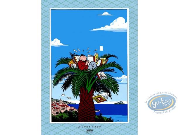 Serigraph Print, Jeune Albert (Le) : Chaland, Le Jeune Albert en vacances