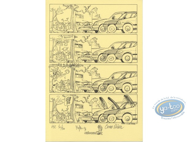 Bookplate Offset, Gowap (Le) : Page