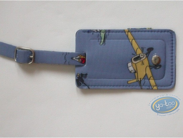 Luggage, Tintin : Luggage Label, Tintin blue