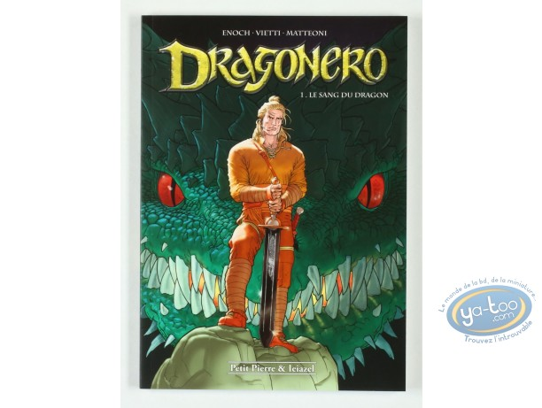 Reduced price European comic books, Dragonero : Le sang du Dragon