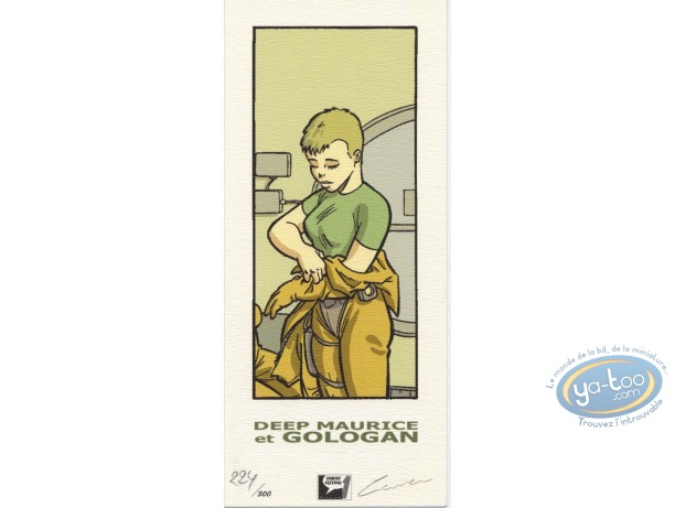 Bookplate Offset, Deep Maurice et Gologan : Space Suit
