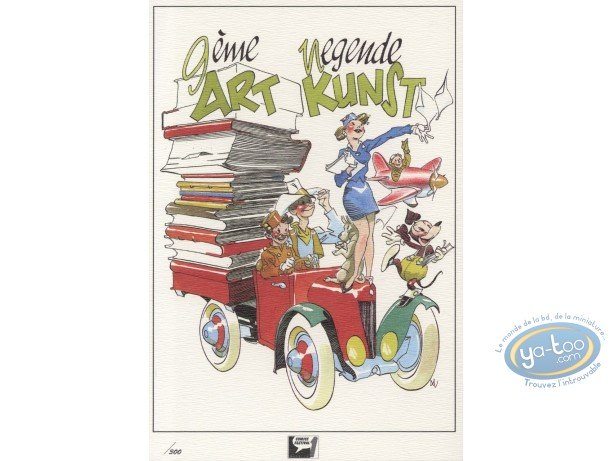Bookplate Offset, Séverin : Tribute to Comics (not signed)