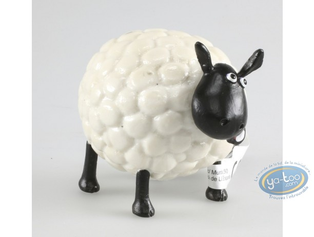 Plastic Figurine, Wallace and Gromit : Shirley - Shaun the sheep