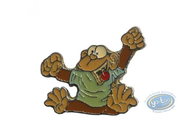 Pin's, Ni Dieu ni Bête : Monkey in T-shirt / Ni dieu ni bête