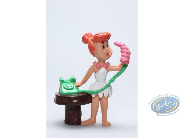 Plastic Figurine, Pierrafeu (Les) : Wilma phone