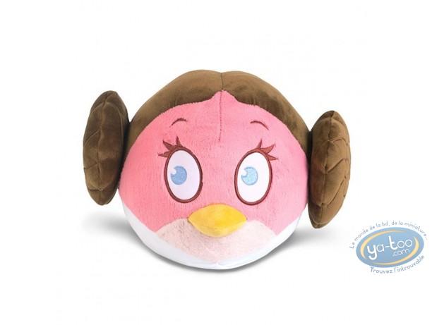 Plush, Angry-birds : Angry-birds Star Wars : Princess Leïa