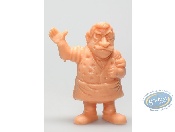 Plastic Figurine, Lucky Luke : Barman (orange)