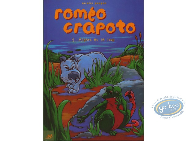 Reduced price European comic books, Roméo Crapoto : Roméo Crapoto
