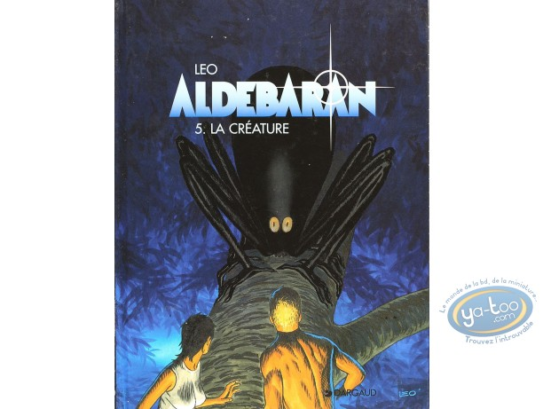 Listed European Comic Books, Aldebaran : La Creature