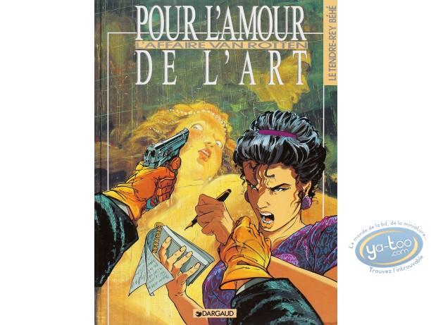 Listed European Comic Books, Amour de l'art (Pour l') : L'affaire Van Rotten (good condition)