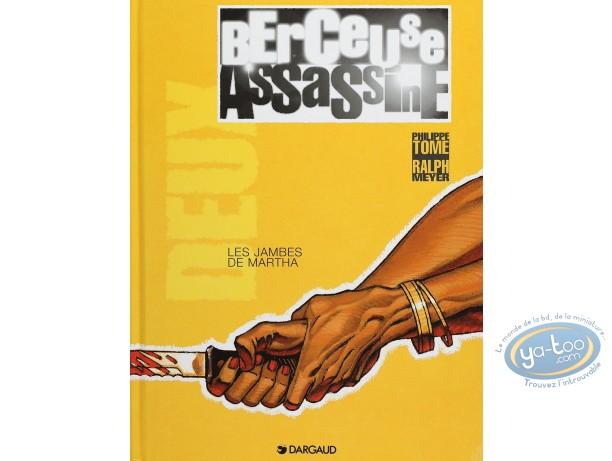 Listed European Comic Books, Berceuse Assassine : Les jambes de Martha (very good condition)