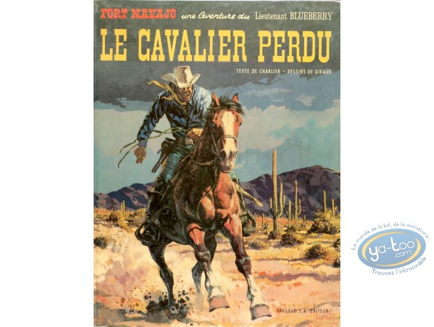 Listed European Comic Books, Blueberry : Le Cavalier Perdu