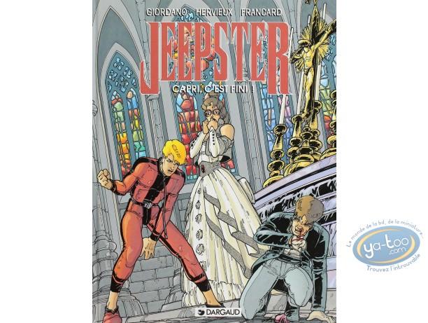 Listed European Comic Books, Jeepster : Capri, C'est fini!