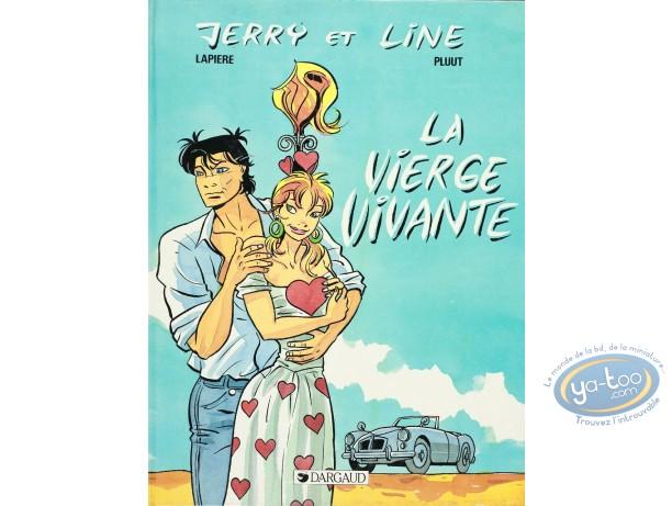 Reduced price European comic books, Jerry et Line : La vierge vivante