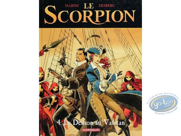 Listed European Comic Books, Scorpion (Le) : Le Demon au Vatican