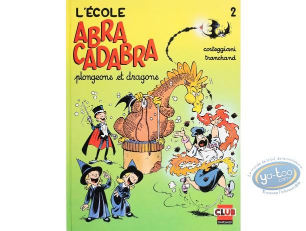 Listed European Comic Books, Ecole Abracadabra (L') : Plongeons et Dragons (very good condition)