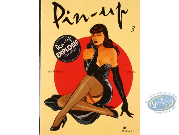 Listed European Comic Books, Pin-Up : Pin-up 3