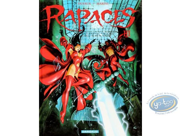 Listed European Comic Books, Rapaces : Rapaces