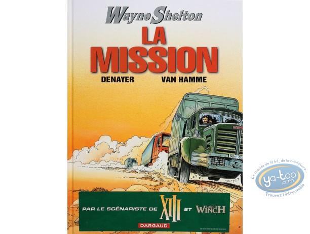 Listed European Comic Books, Wayne Shelton : La Mission