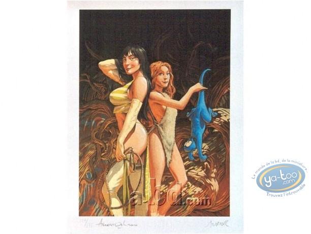 Offset Print, Trolls de Troy : His Women
