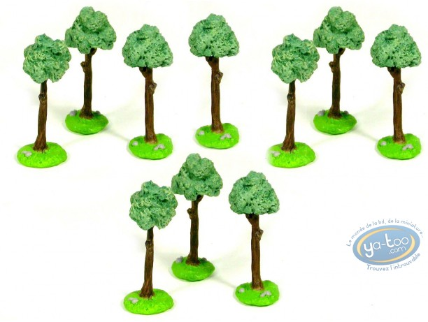 Metal Figurine, Blue Coats (The) : The Camp - Tree 2 (bulk 10 copies)