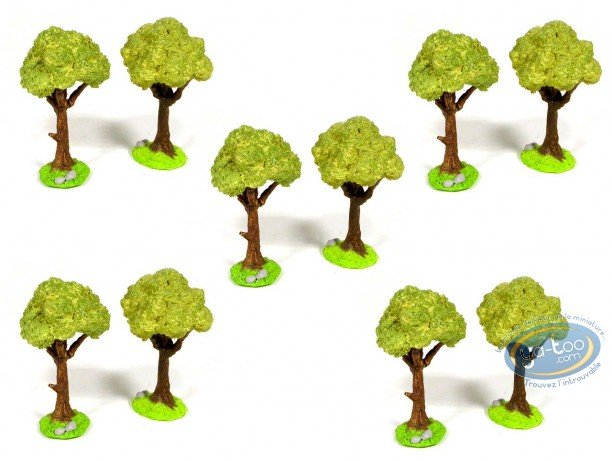 Metal Figurine, Blue Coats (The) : The Camp - Tree 3 (bulk 9 copies)