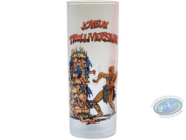 Tableware, Trolls de Troy : Water glass : Trolls 1