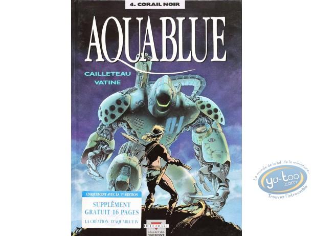 Listed European Comic Books, Aquablue : Corail Noir