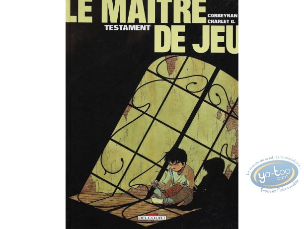 Listed European Comic Books, Maître de Jeu (Le) : Testament