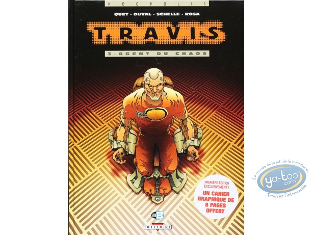 Listed European Comic Books, Travis : Agent du chaos