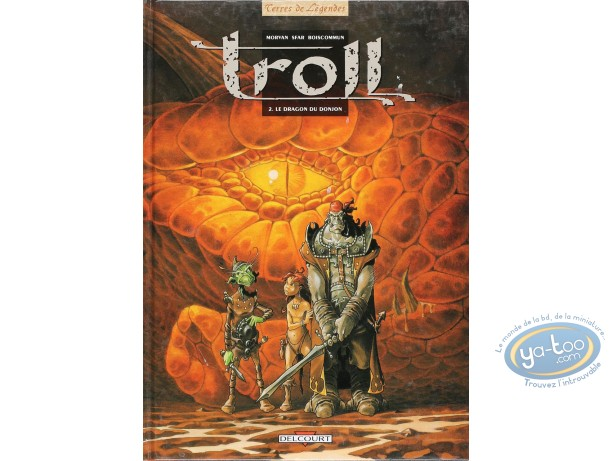 Listed European Comic Books, Troll : Le dragon du donjon (very good condition)