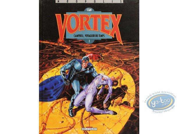 Listed European Comic Books, Vortex : Campbell, voyageur du temps - 1 (very good condition)