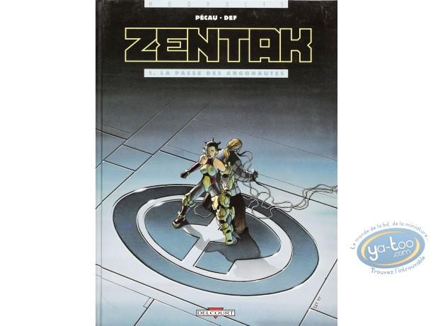 Listed European Comic Books, Zentak : La passe des Argonautes (very good condition)