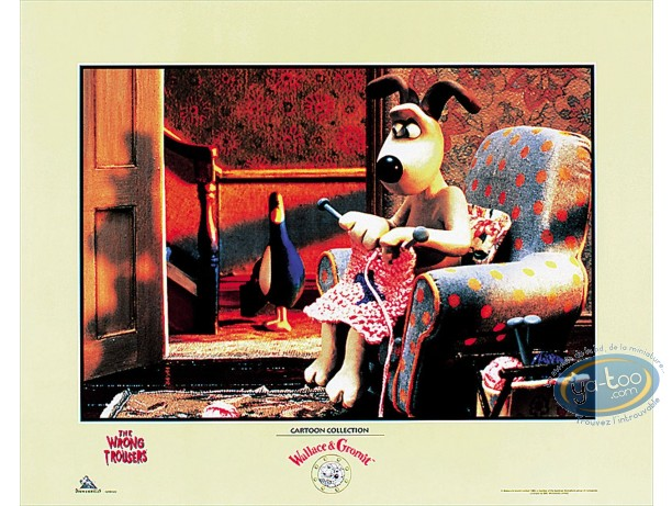 Offset Print, Wallace and Gromit : Gromit Armchair