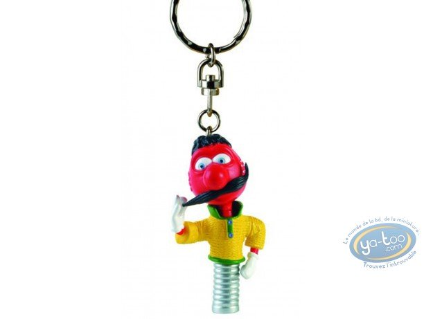 Keyring, Manège Enchanté (Le) : Key ring, The Magic Roundabout : Zebulon