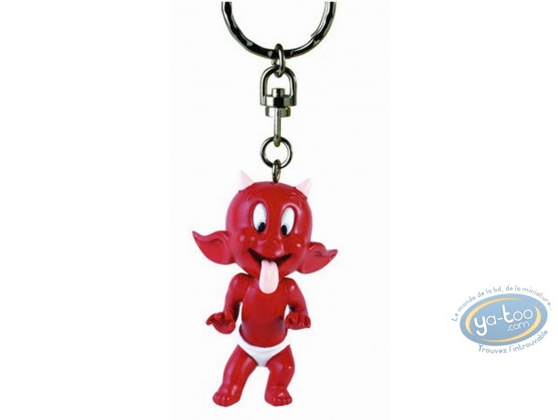 Keyring, Hot Stuff : Key ring, Hot Stuff tongue