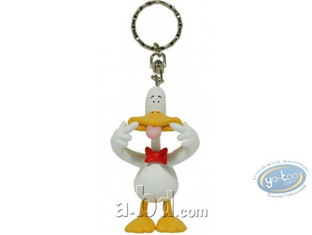 Plastic Figurine, Sitting Ducks : Key ring, Sitting Ducks