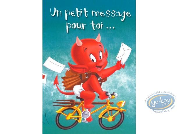 Buy Online Post Card Hot Stuff Un Petit Message Pour Toi